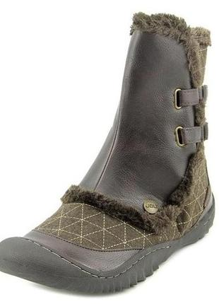 Оригинал из сша ботинки зимние с мехом и войлоком с акт. стелькой jbu by jambu