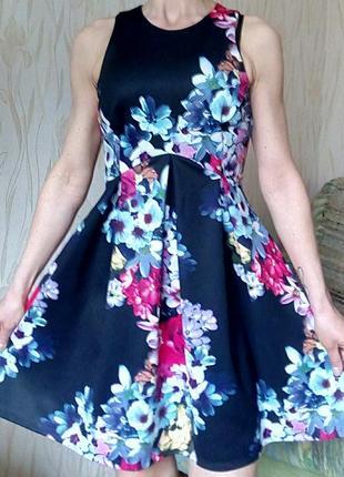 Стильное платье с цветочным принтом by george.