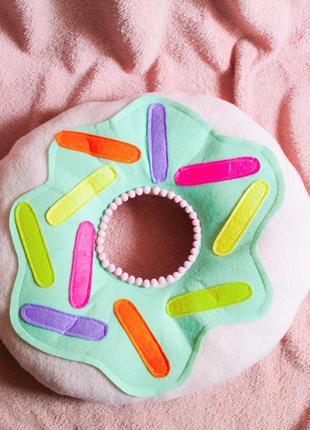 Подушка пончик
