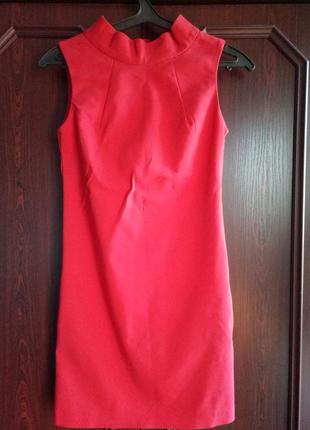 Акция!!! 1+1=3!красное платье oodji