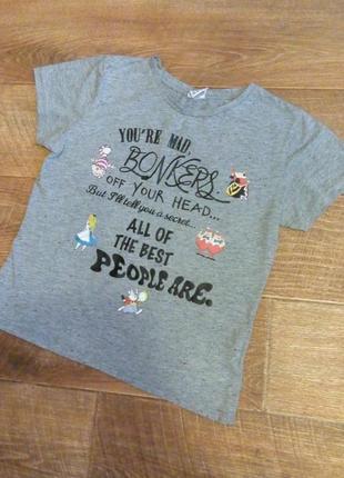 Сіра футболка disney