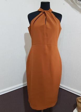 Стильное платье миди zara