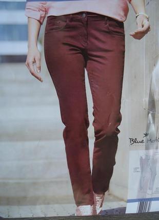 Стрейчевые брюки джинсы blue motion германия, р. 36 евро - 42 наш