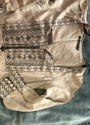 Платье с вышивкой вышиванка