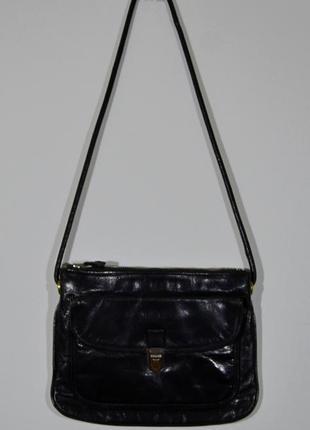 Сумка кожаная yves saint laurent vintage w's bag