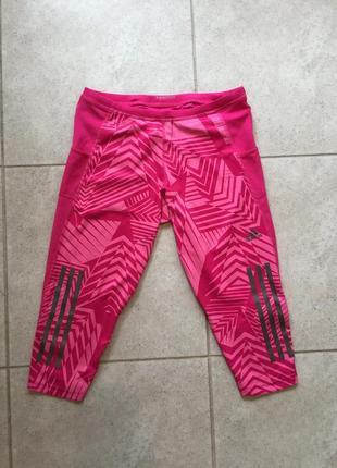 Лосины капри adidas оригинал м рр розовые