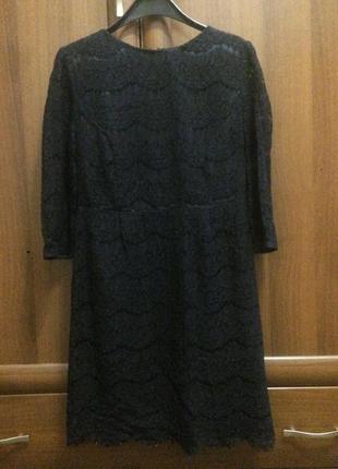 Чорна мереживна сукня atmosphere