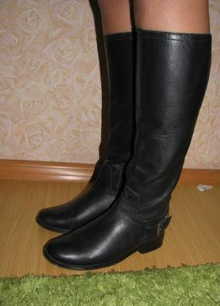 Ibana rouge сапоги кожа 37 р по ст 24.5 см гол 36 см щик 30 см висота 39.5 см