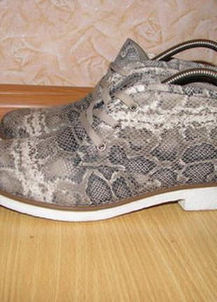 Mode queen ботинки черевички текстиль 40 р по вст 26 см взуті один раз