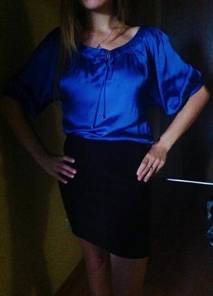 Нарядная яркая блузка monsoon блуза блузон в офис  размер s-m
