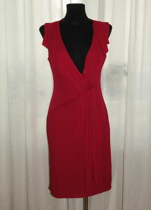 Женственное платье цвета фуксии
