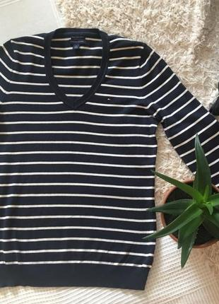 Полосатый свитер tommy hilfiger