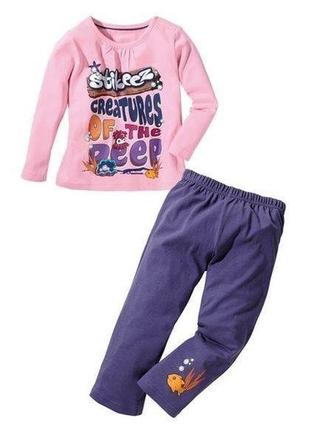 Пижама lupilu stikeez размер 110/116