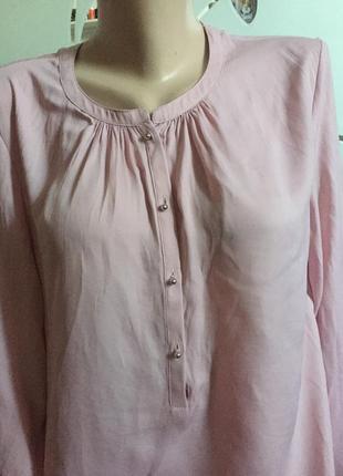 Блуза цвет пудра