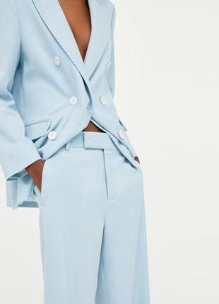 Zara костюм голубой, s4 фото