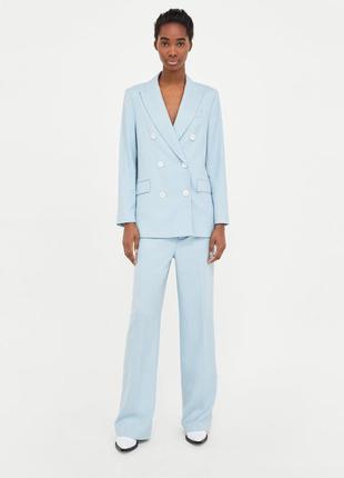 Zara костюм голубой, s3 фото