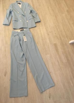 Zara костюм голубой, s2 фото