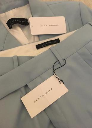Zara костюм голубой, s5 фото