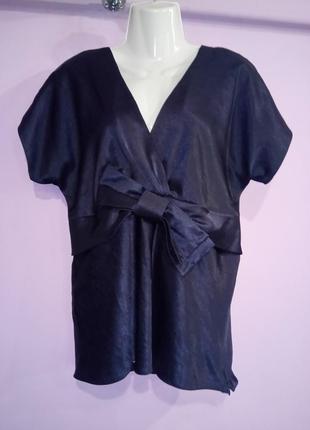 Атласная рубашка блуза от wallis uk 14 / 42 / l