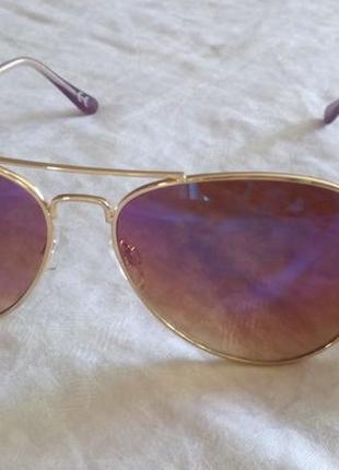 """Солнцезащитные очки н&м """"авиаторы""""4 фото"""
