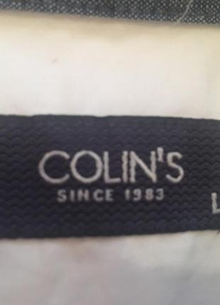 """Продам новую белоснежную рубашку colin""""s"""