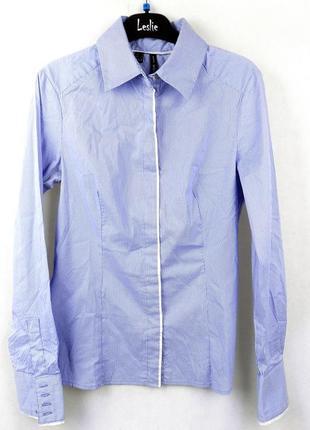 Рубашка в полоску mango basic