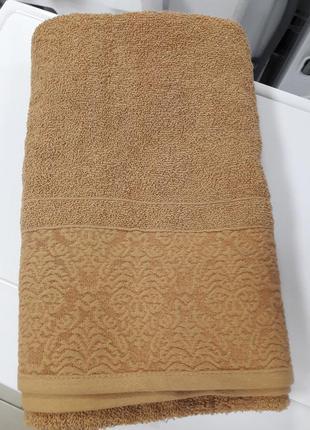 Распродажа! плотное банное полотенце турция хлопок 140×70