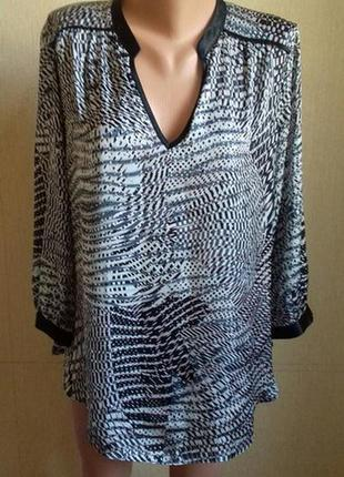 Распродажа!!!блуза с принтом wallis