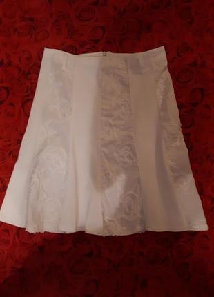 Летняя итальянская юбка фасон годе
