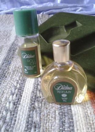 Винтаж pollena diana, духи винтажные в наборе