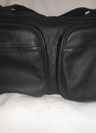 Мужская повседневная сумка из кожи