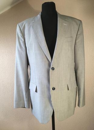 Легкий пиджак в полоску westbury finest quality by c&a(размер 54)
