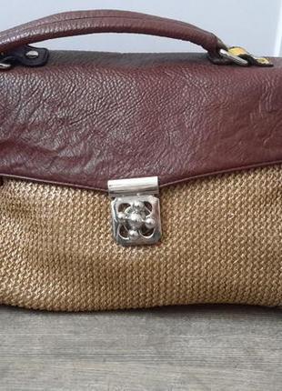 Плетеная сумка fabretti
