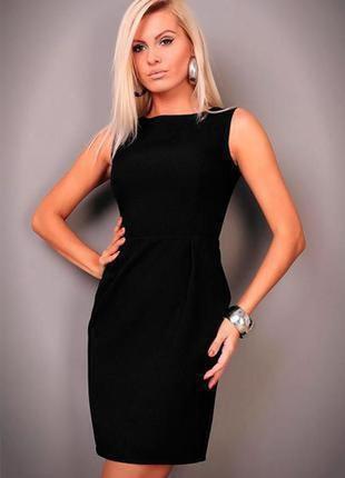 42-44р. per una.(оригинал) шикарное вечернее черное миди платье.
