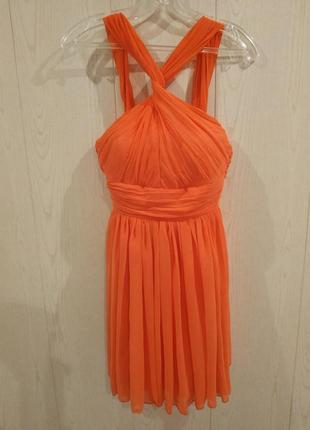 Красивое платье из англии rare london