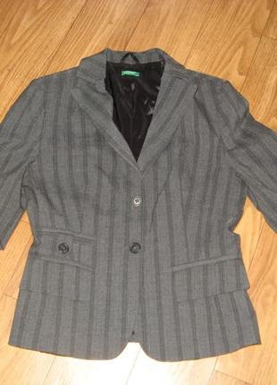 Пиджак классический benetton