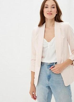 Пиджак нежно розовый кардиган кофта