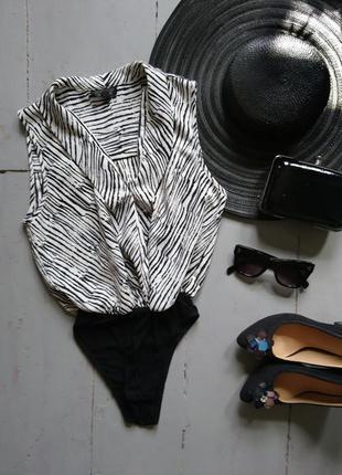 Базовое боди блуза топ
