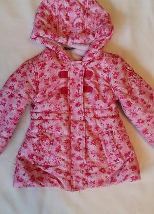 Демисезонная курточка для девочки размер 1годик/80см