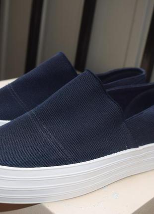 Стильные мокасины криперы кеды туфли super slum р.36 23 см сша usa