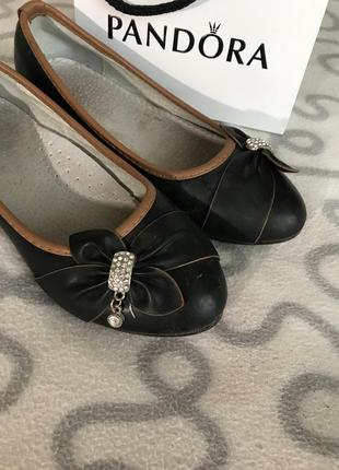 Балетки туфли на девочку1 фото