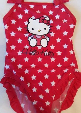 Купальник для девочки hello kitty размер 98/104