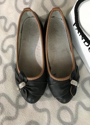 Балетки туфли на девочку2 фото
