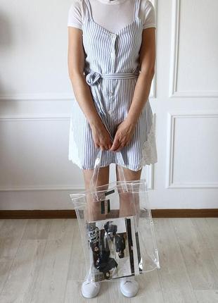 Платье миди на бретелях zara