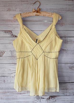 Блуза воздушная из натурального шелка