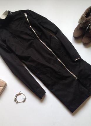 Длинная удлиненная черная демисезонная куртка. смотрите мои объявления!