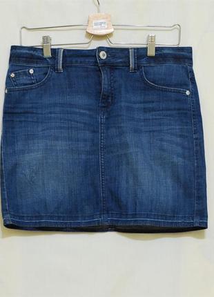 "Актуальная джинсовая  юбка ""marks & spencer"""