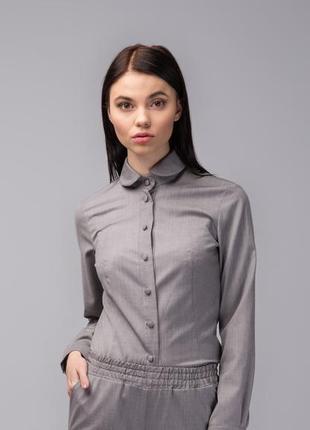 Рубашка в мелкий рубчик next, размер 46-48