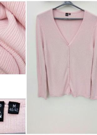 Нежно розовый джемпер