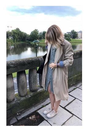 Тренч-пальто zara вне времени